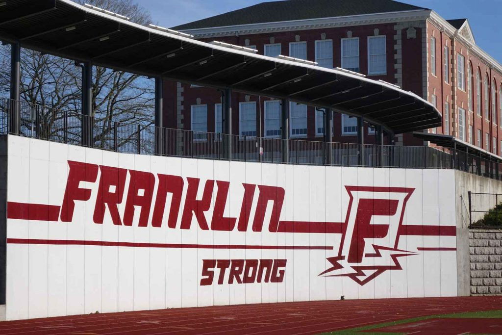 Franklin Strong sign
