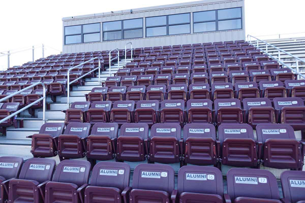 Stadium Seating at Franklin HS